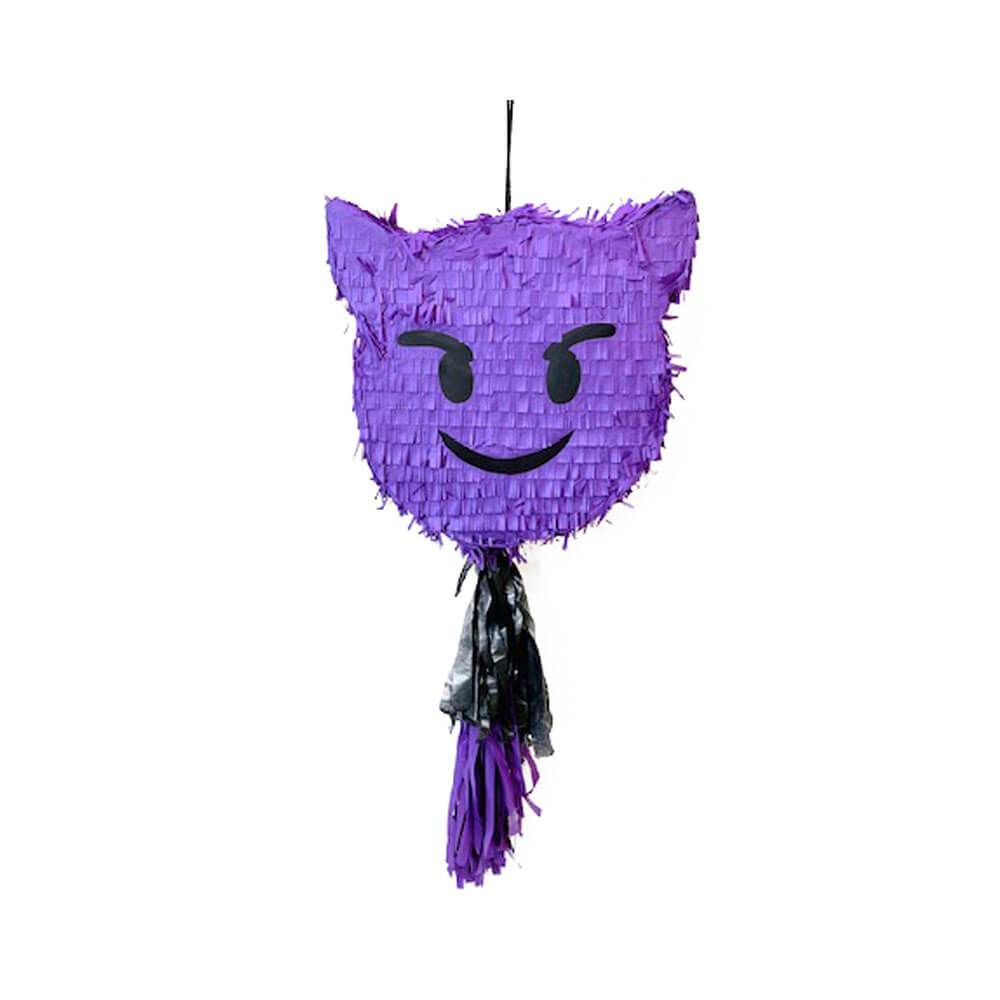 Piñata emoticono diablillo