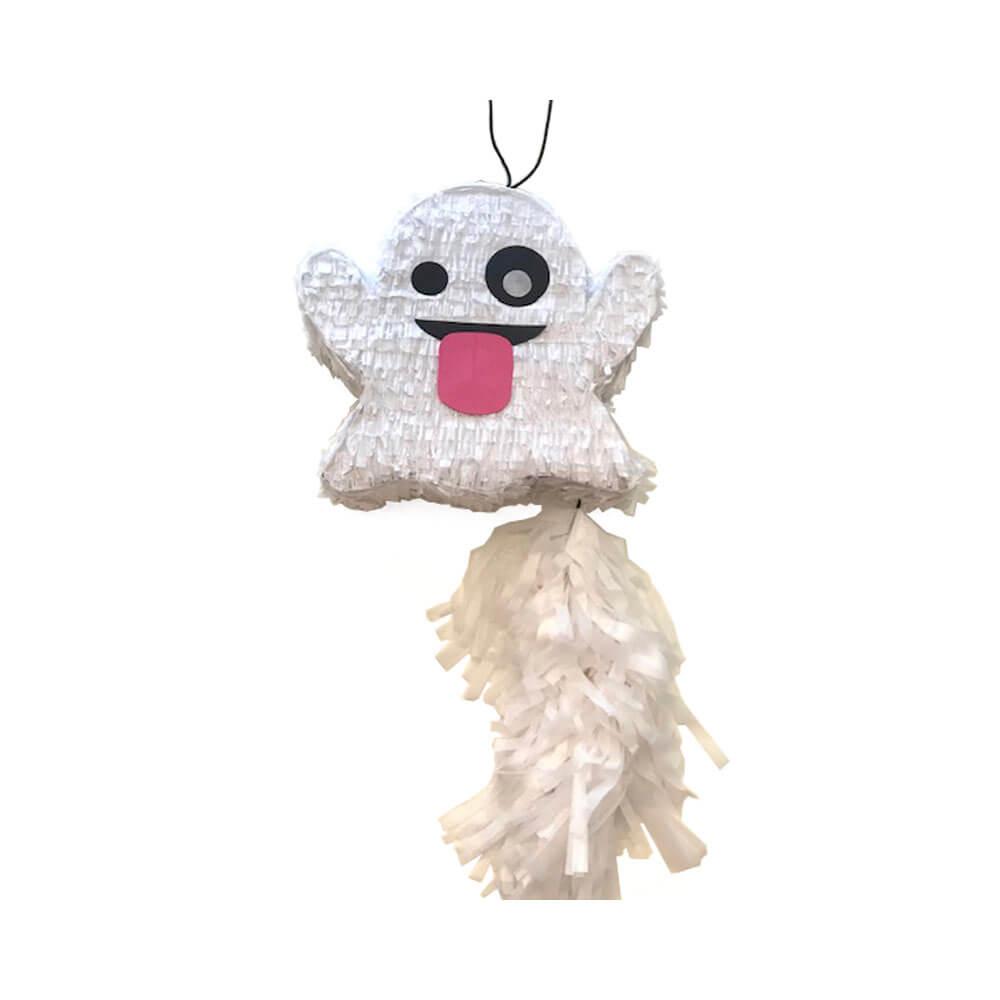 Piñata emoticono fantasma