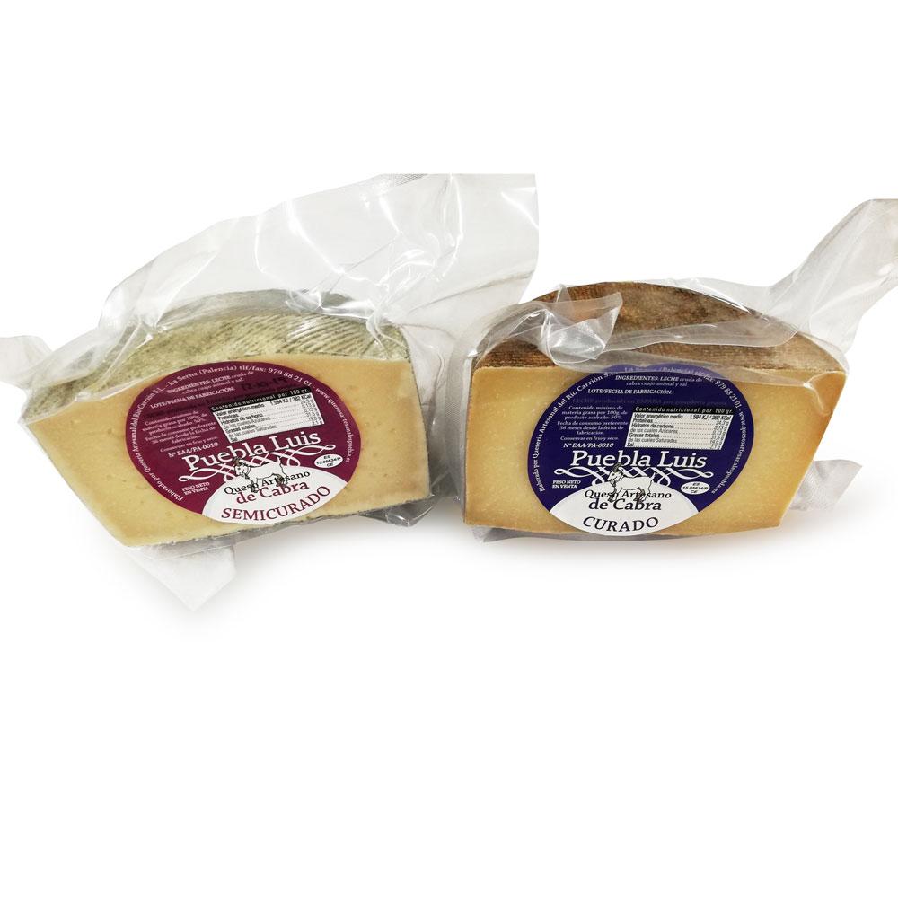 Lote cuñas artesanas de queso de cabra
