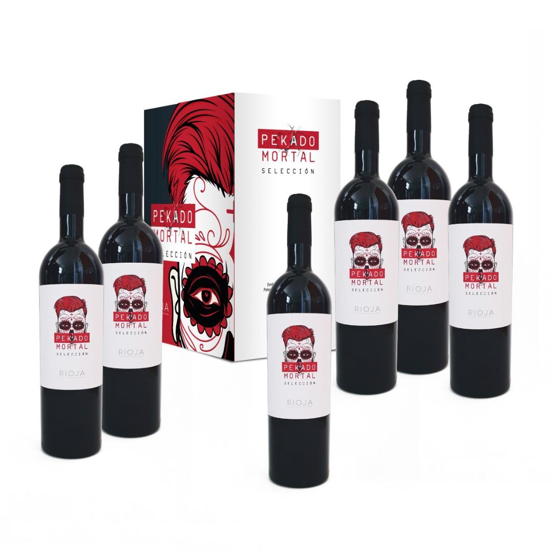 aja 6 botellas Rioja Pekado Mortal Selección