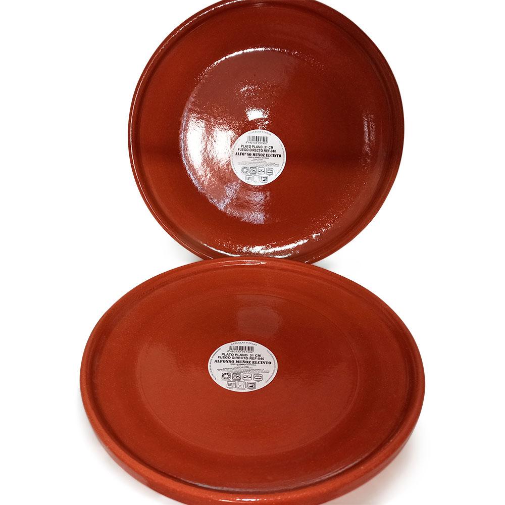 Lote 2 platos de 31 cm