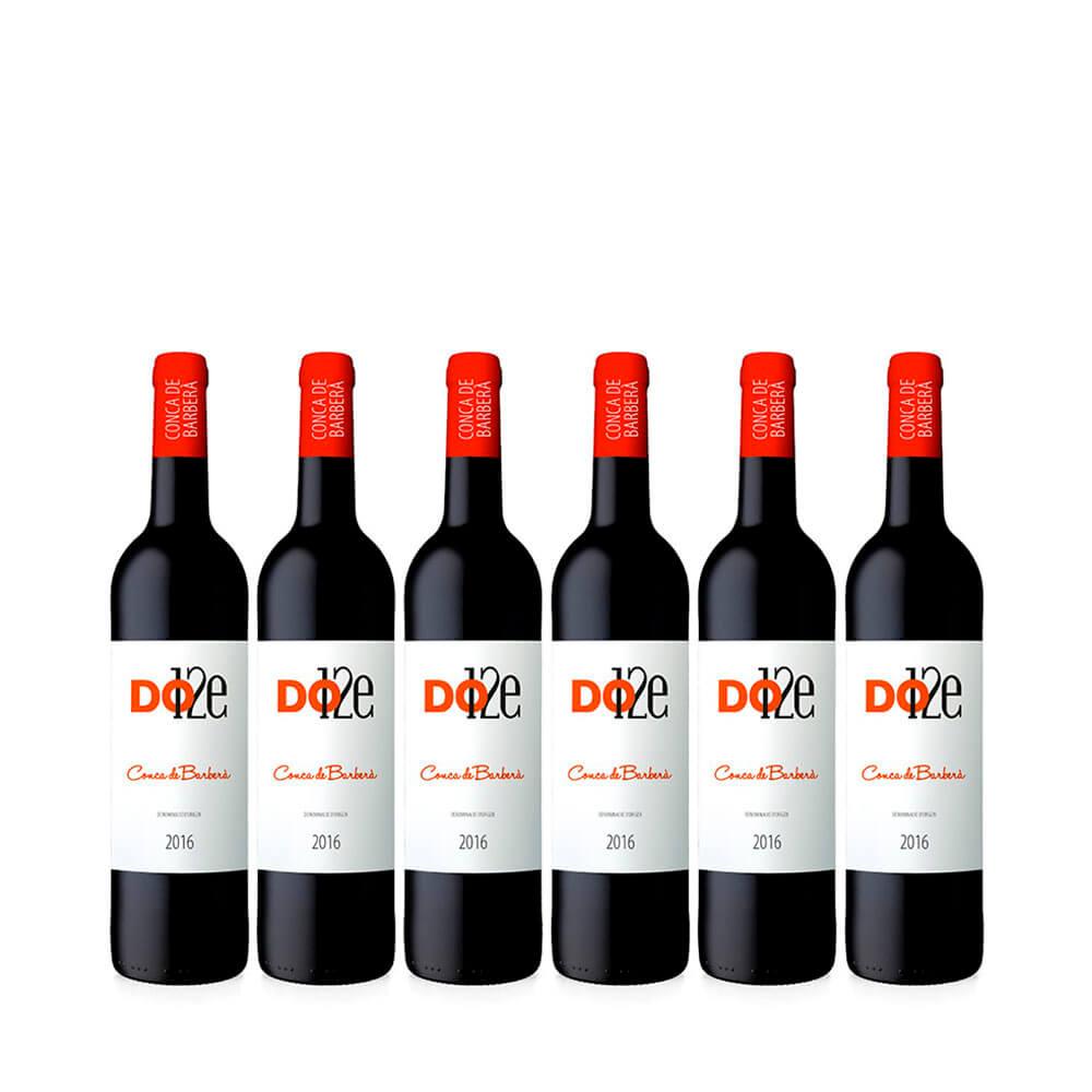 Dotze DO Conca De Barberà 75 cl -Caja de 6 botellas
