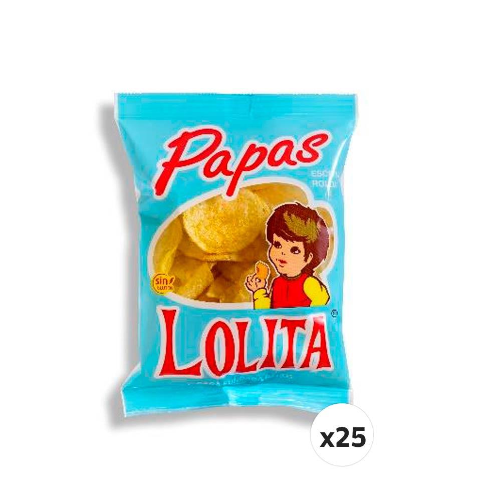 PAPAS LOLITA 45 G (CAJA DE 25 UNIDADES)