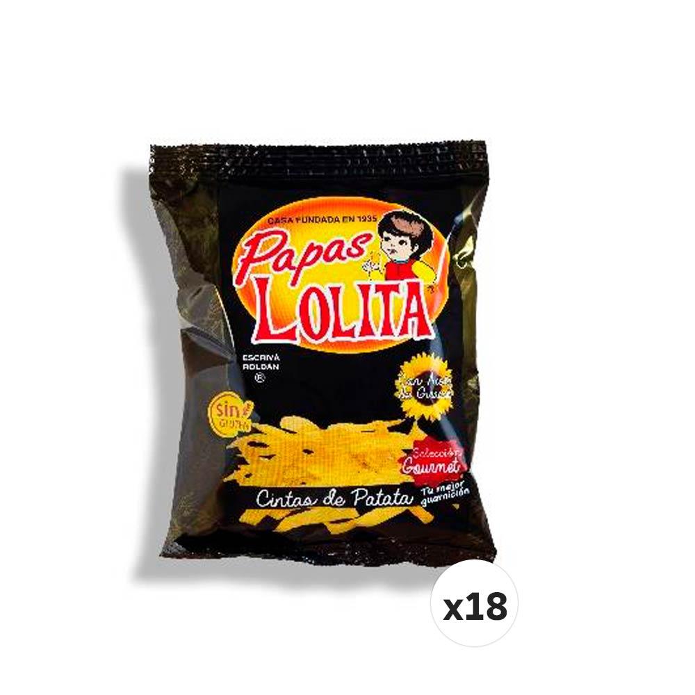 PAPAS LOLITA CINTAS DE PATATA 70 G (CAJA DE 18 UNIDADES)