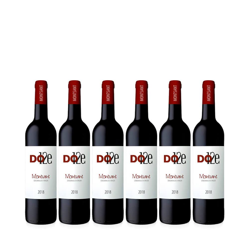 Dotze DO Montsat 75 cl -Caja de 6 botellas