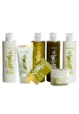 Pack cosmética conaceite de oliva virgen extra Hacienda Ortigosa