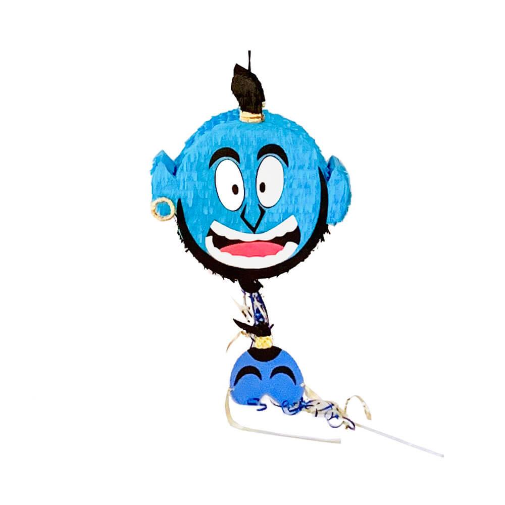 Piñata genio azul