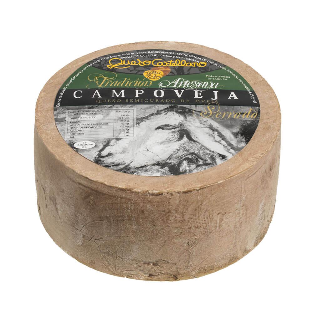 Queso Campoveja semicurado - 1,1 kg