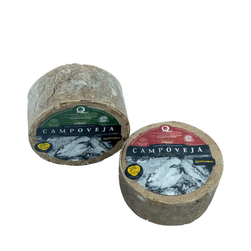 Dúo quesos Campoveja tradición artesana