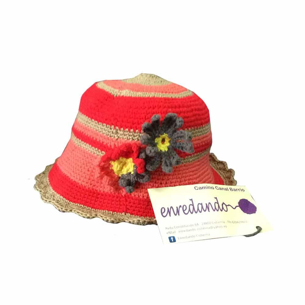 Enredando Hat Flowers Girl Tangled Flowers Summer