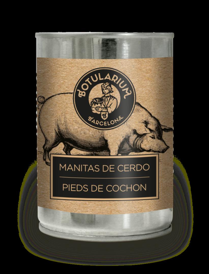 Manitas de cerdo Botularium (390g)