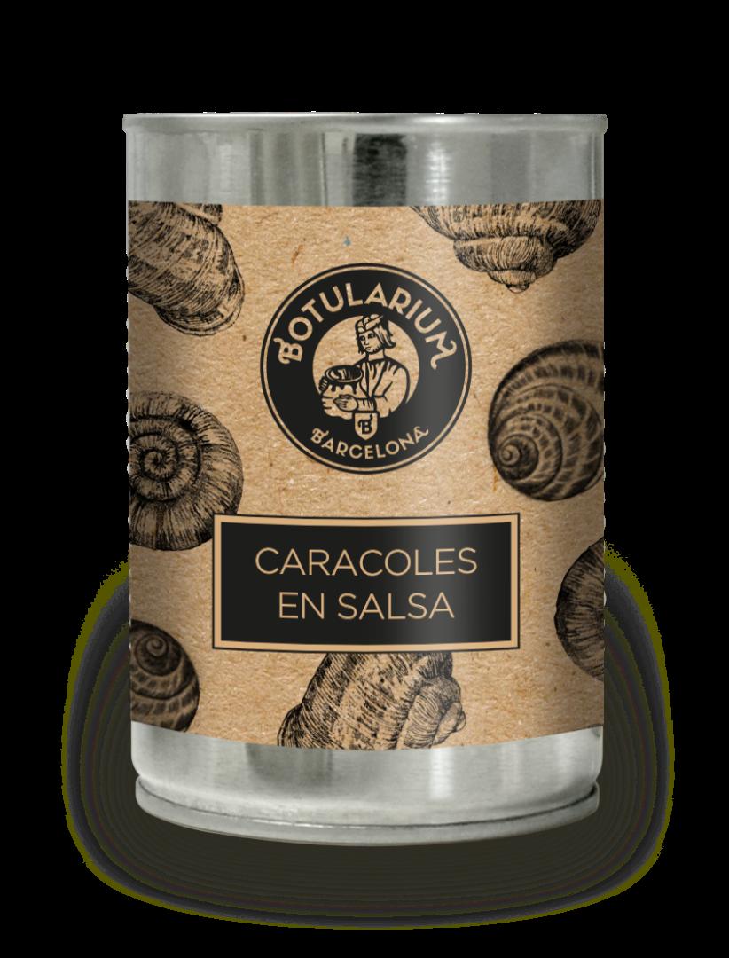 Caracoles en salsa Botularium (390g)