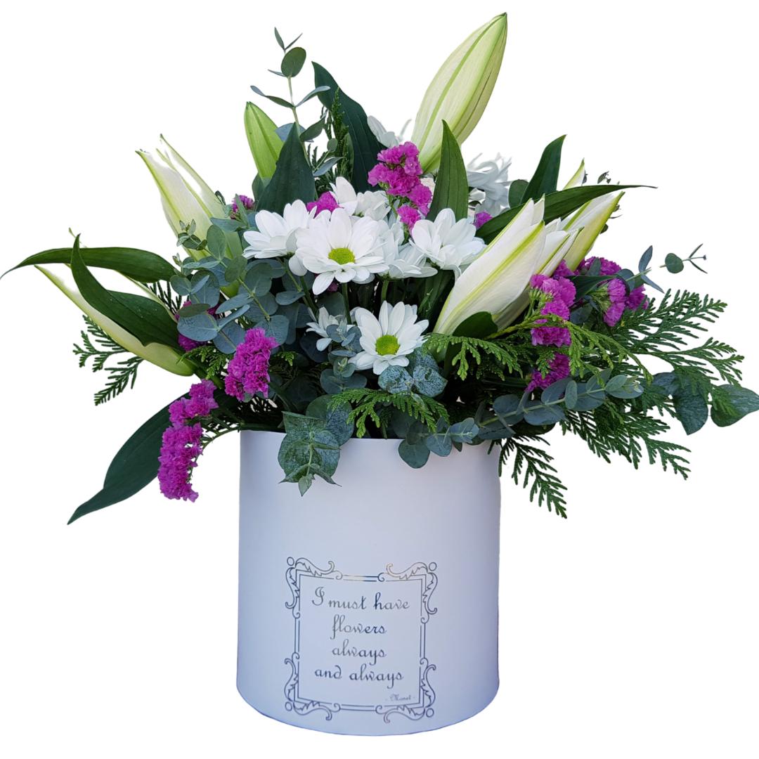 Botanic Dessing Bouquet of natural flowers Margarita