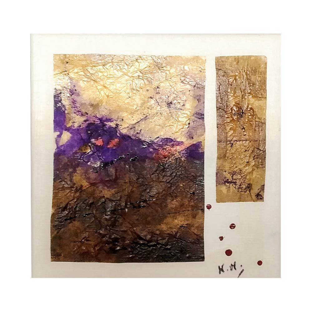 Bosque - Tinta Papel Japonés/Lienzo 20x20 cm