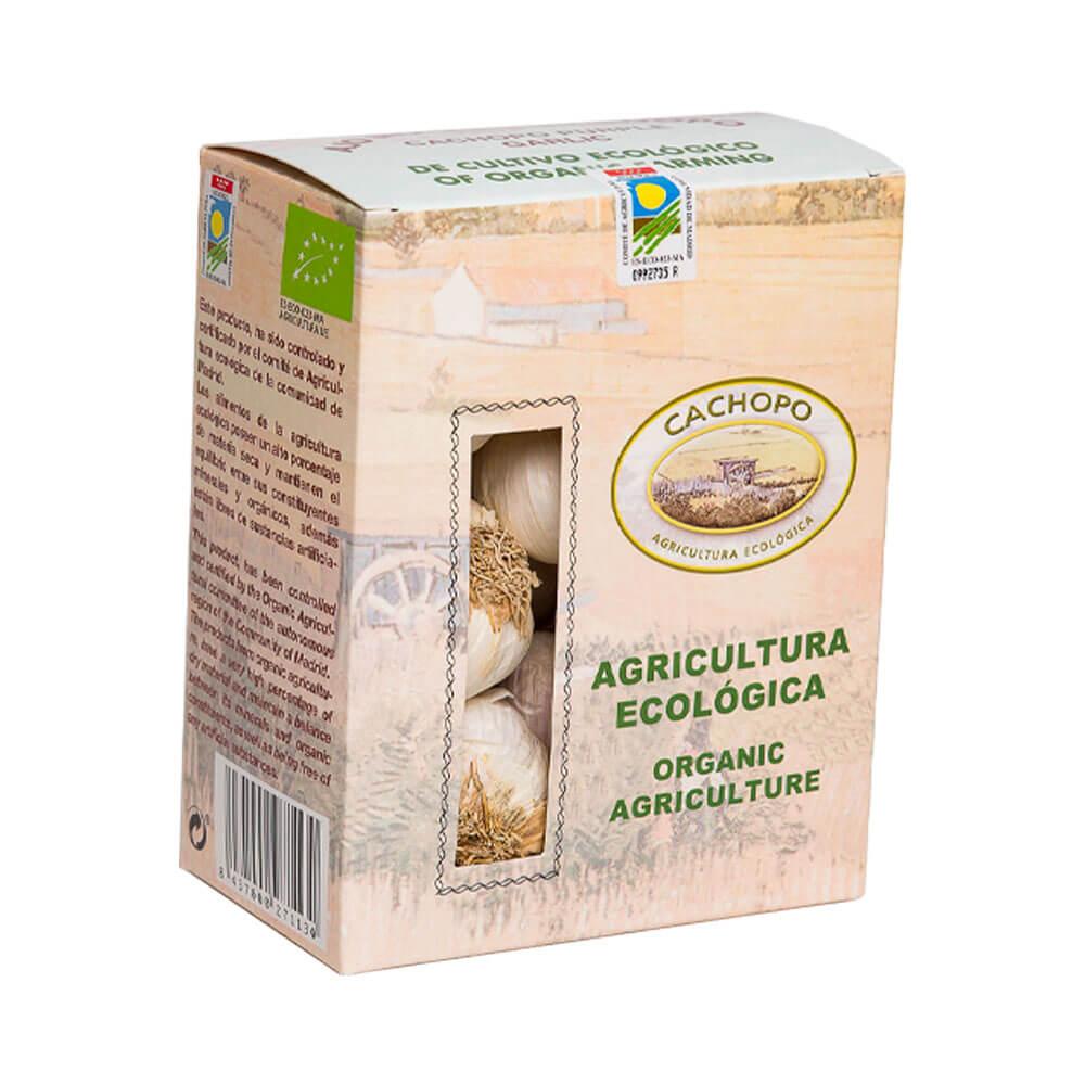 Pack de estuches de Ajo Morado Calibre Flor - 3 x 500g