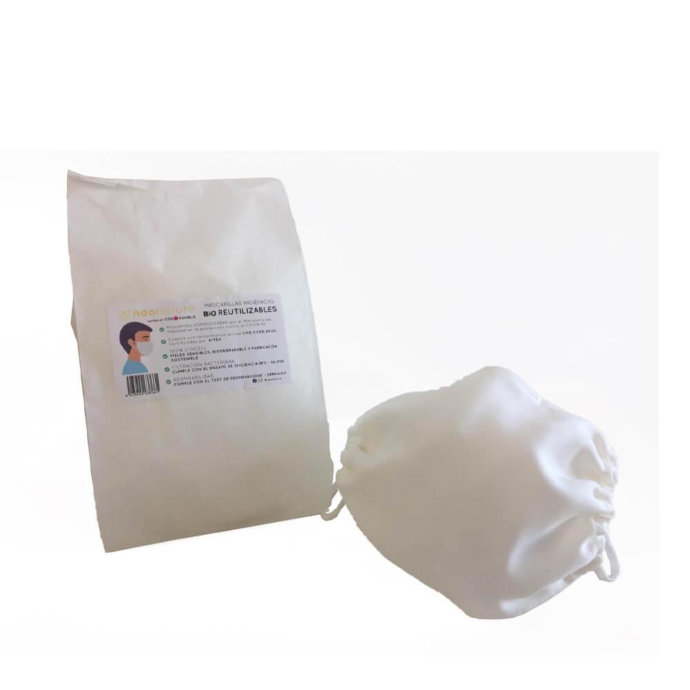 Mascarillas higiénicas Bio Reutilizables para personas adultas