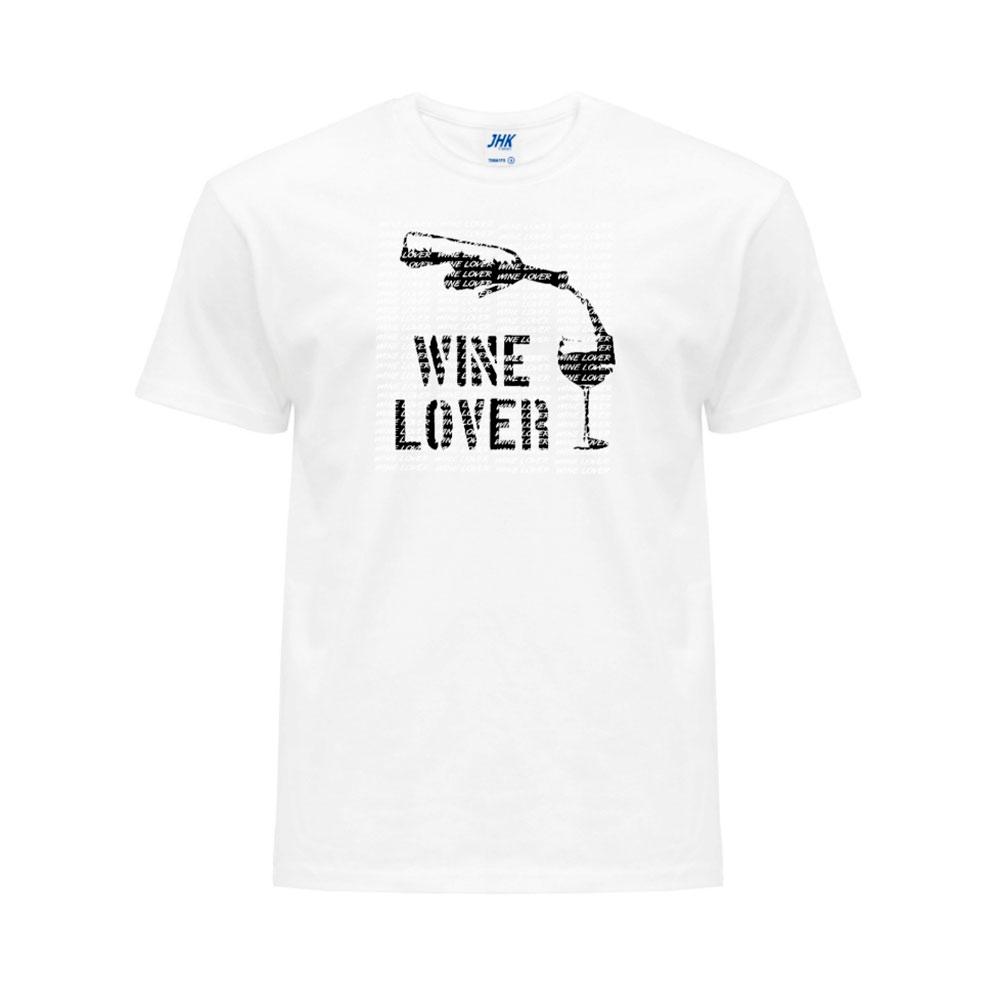 Camiseta unisex estampada - Wine Lover