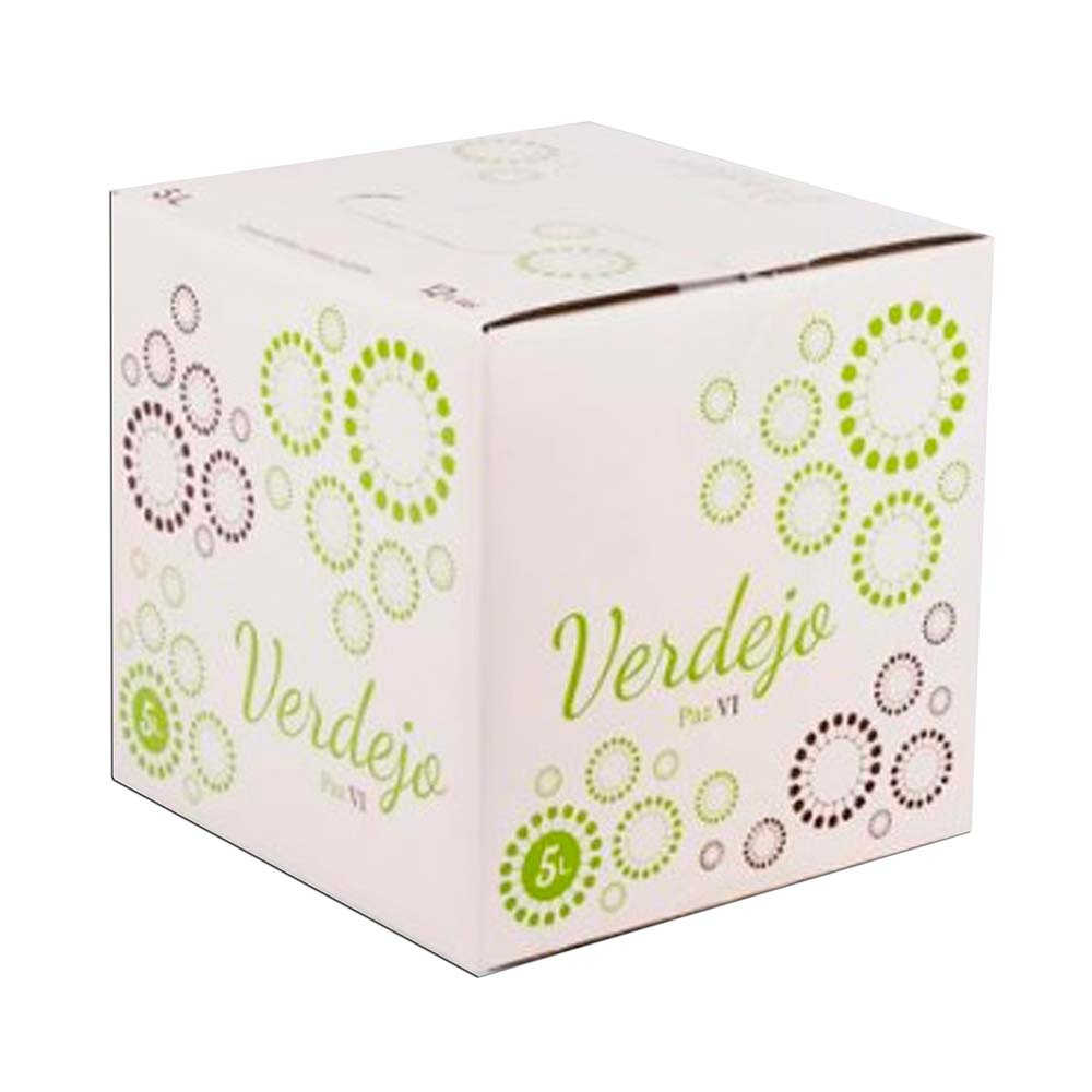 Bag in Box 5L Vino Blanco Verdejo Paz VI