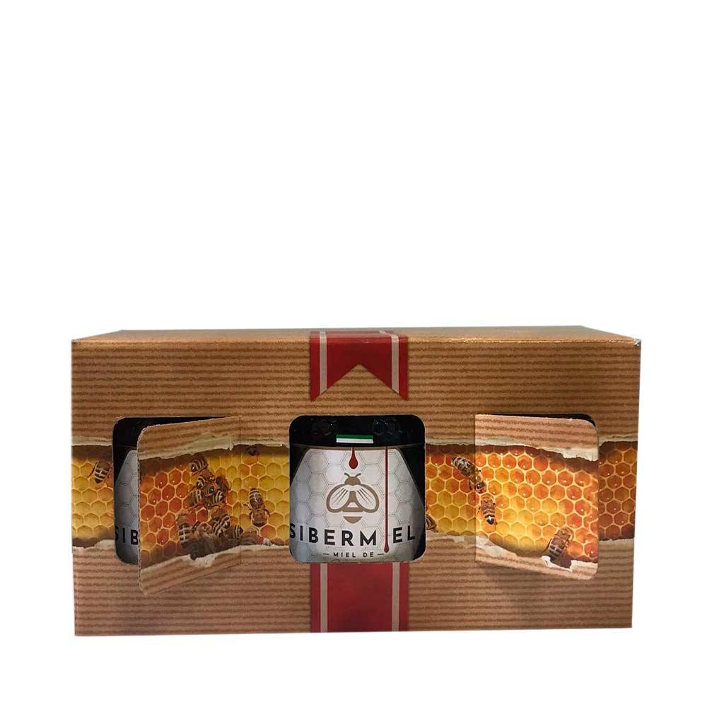 Miel pura caja 3 tarros 500gr