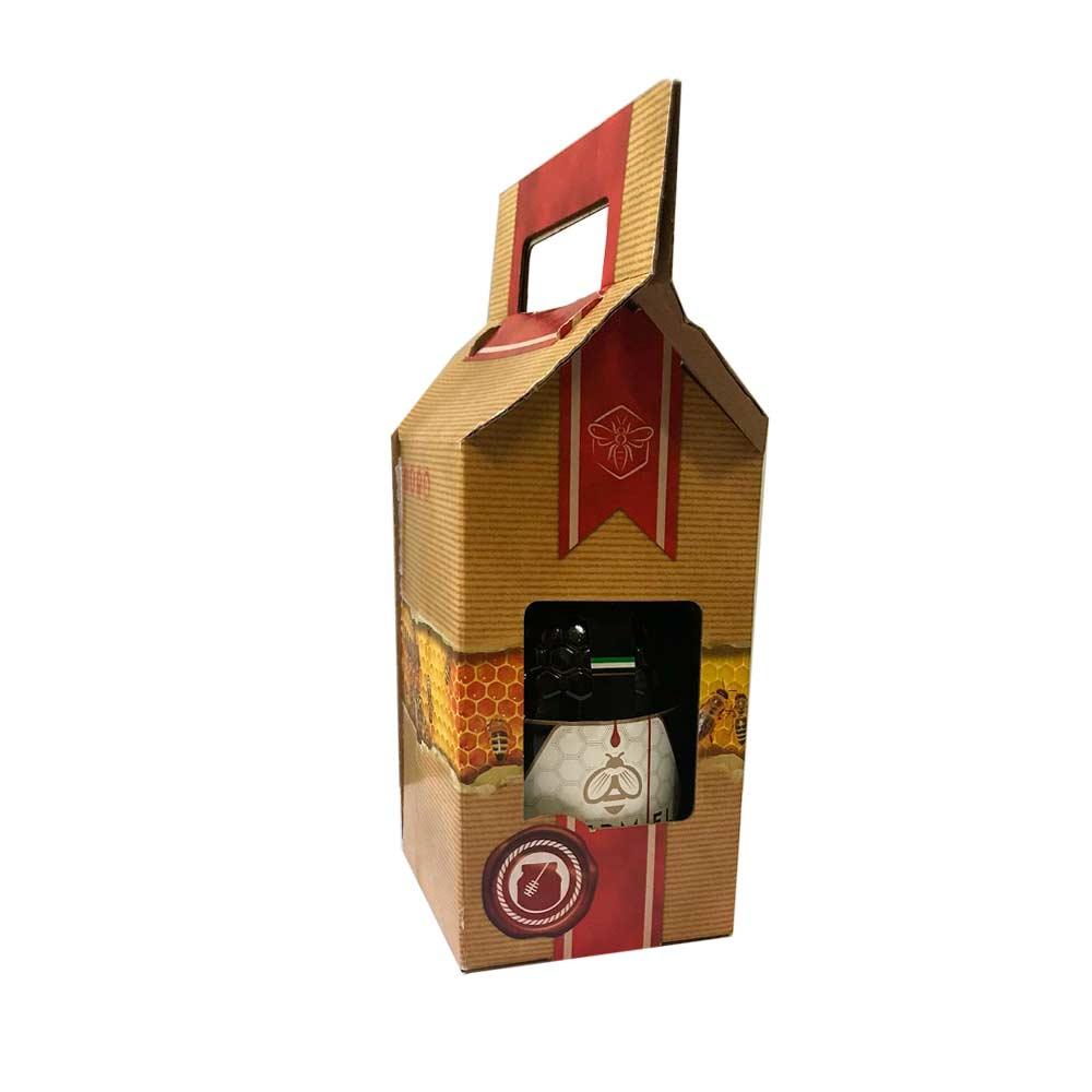 Miel pura Caja 1 tarro 1kg