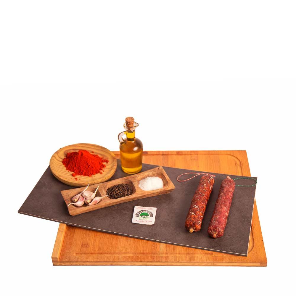 Lote de Velita Chorizo 300g + Salchichón Ibérico 300g