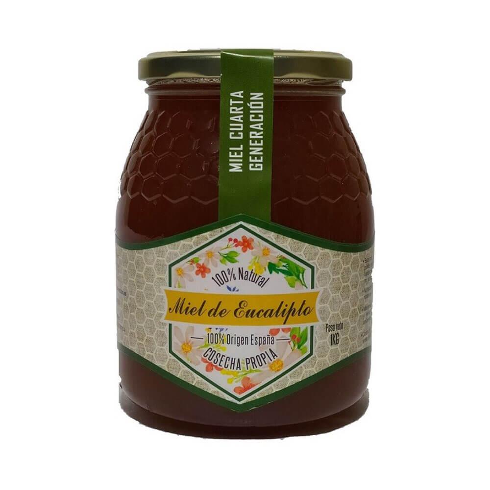 Miel de Eucalipto - Bote de 1 Kg