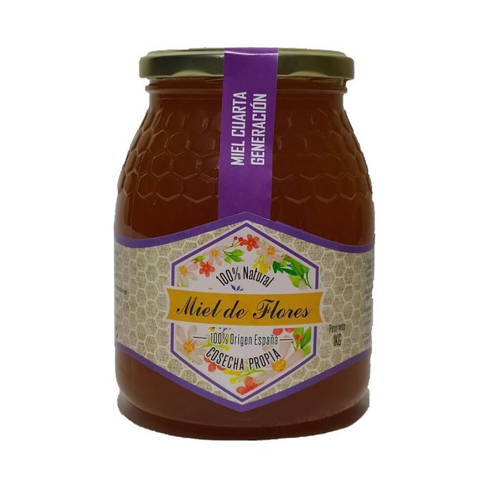 Miel de Flores - Bote de 1 Kg