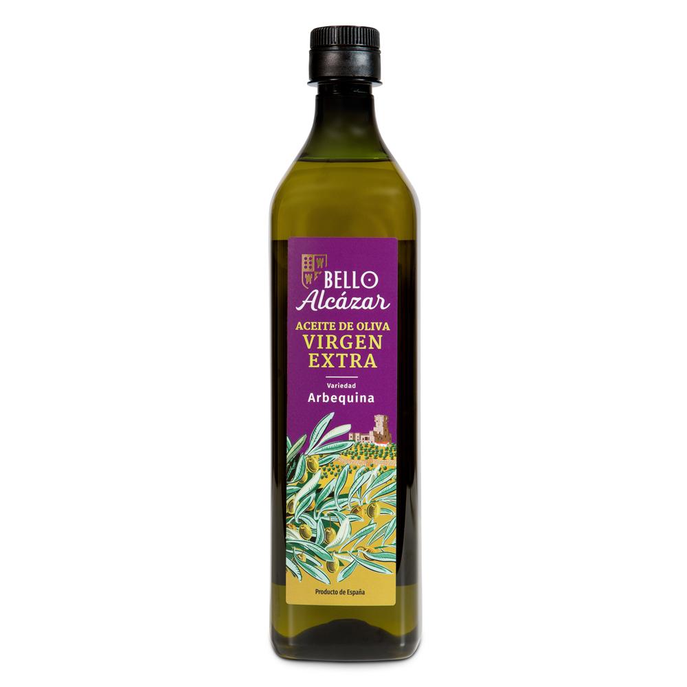 Lote Aceite de Oliva Virgen Extra variedad Arbequina - 12 botellas de 1 L