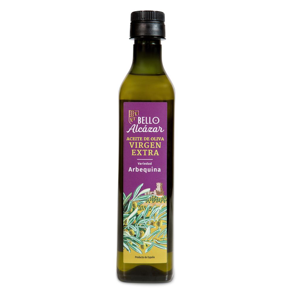 Lote Aceite de Oliva Virgen Extra variedad Arbequina - 12 botellas de 500 ml