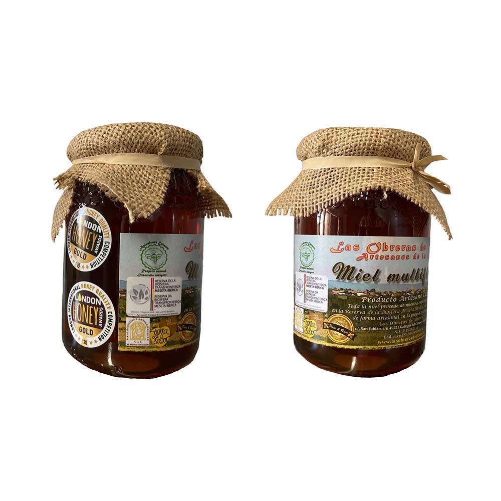 Miel Multifloral Las Obreras de Aliste Bote 1/2 kg