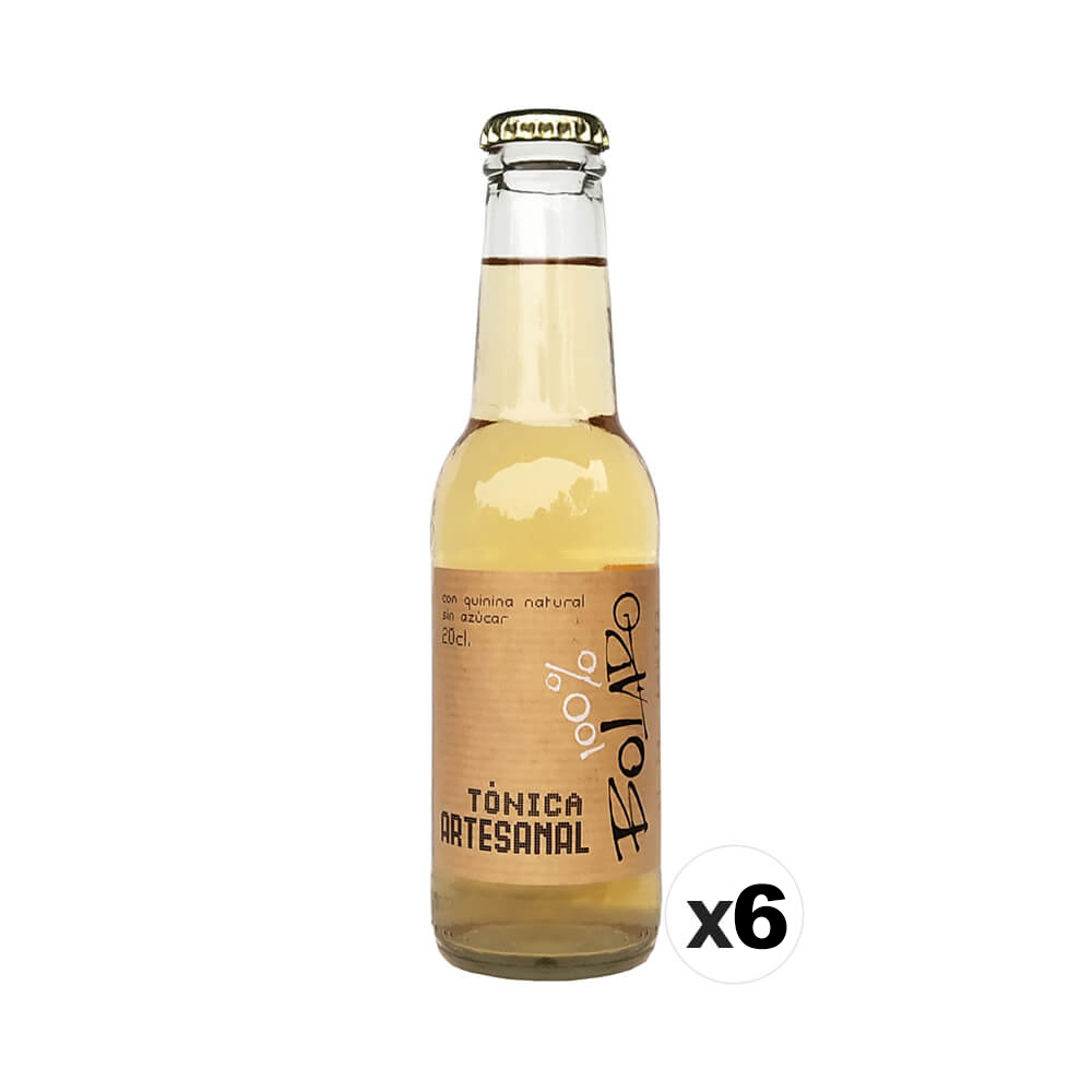 100% Bolado 100% Bolado Craft Tonic Pack - 6x20 cl