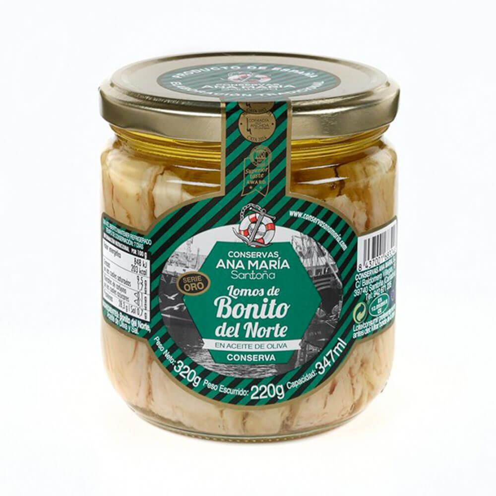 """arro Lomo Bonito del Norte """"Costera Cantábrico""""  A. Oliva 450 ml, caja 12 u."""