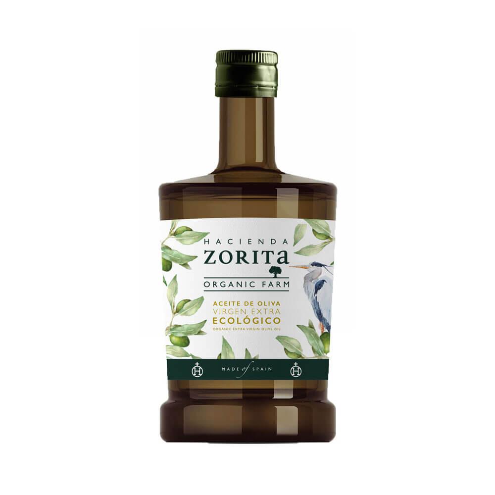Aceite de Oliva Virgen Extra Ecológico. Pack 3 Botellas de 500ml