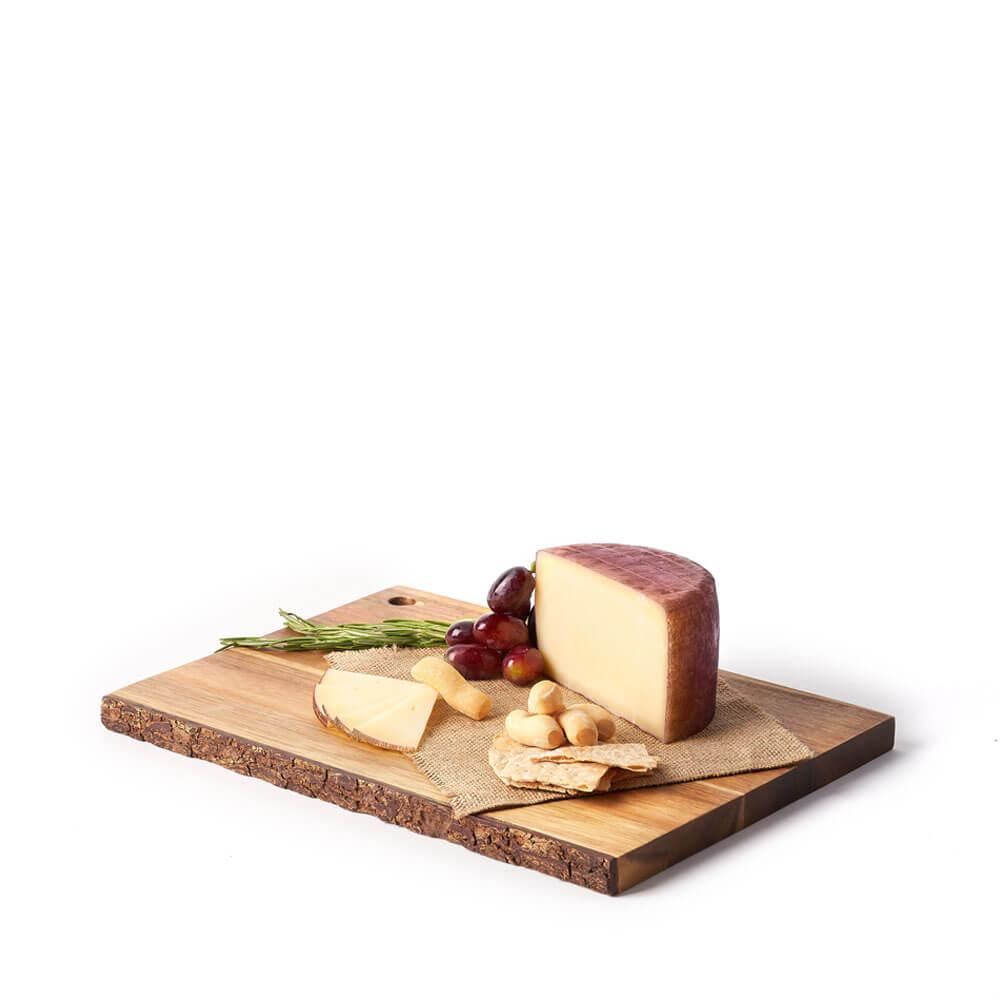 Queso de Leche Cruda de Oveja Curado al Vino Syrah 500 gr