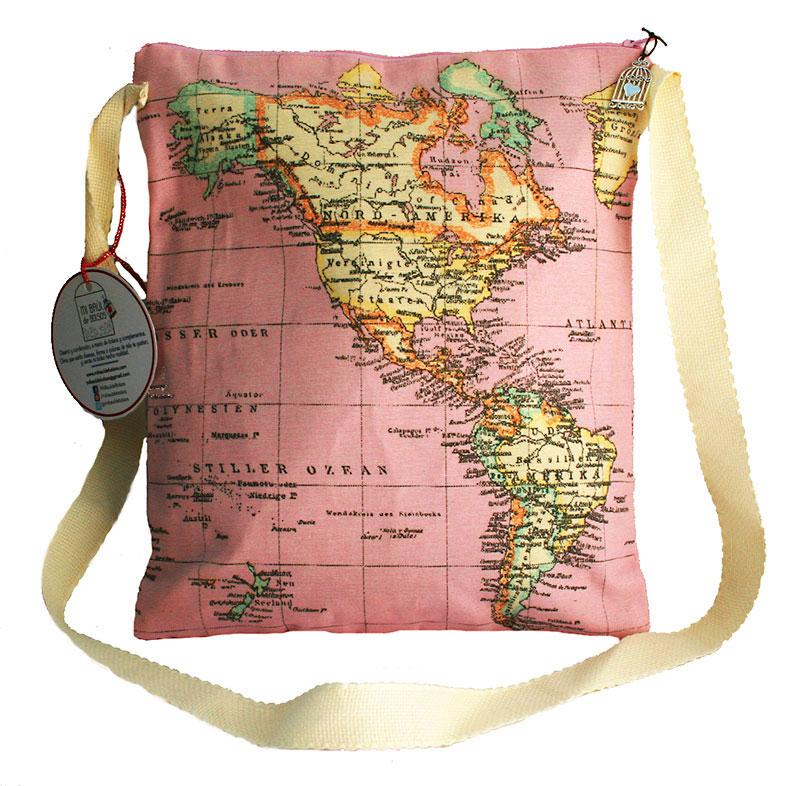 Tote Bag Mapamundi