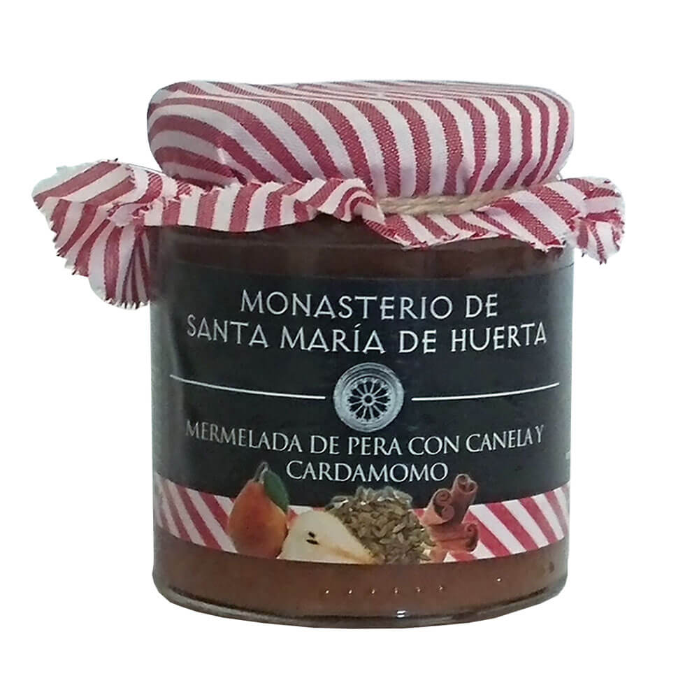 Mermelada de Pera con Canela y Cardamomo - Lote 4 botes de 300 g