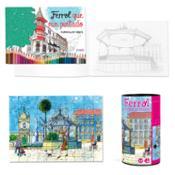 """Lote Puzle de Ferrol + Cuaderno """"Ferrol que nin pintado"""""""