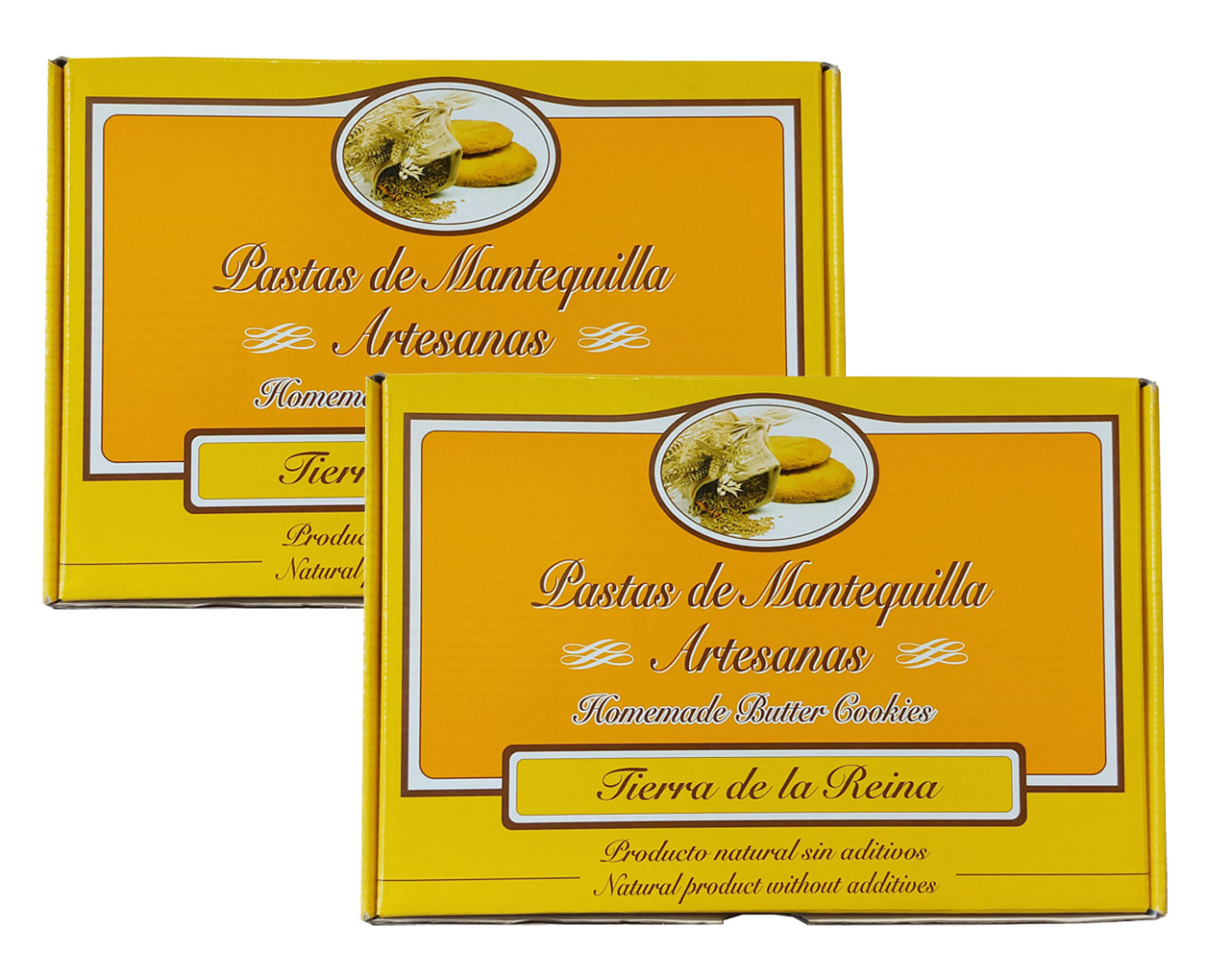 Panadería Tierra La Reina Lot Butter Pastes Land of the Queen 500 g
