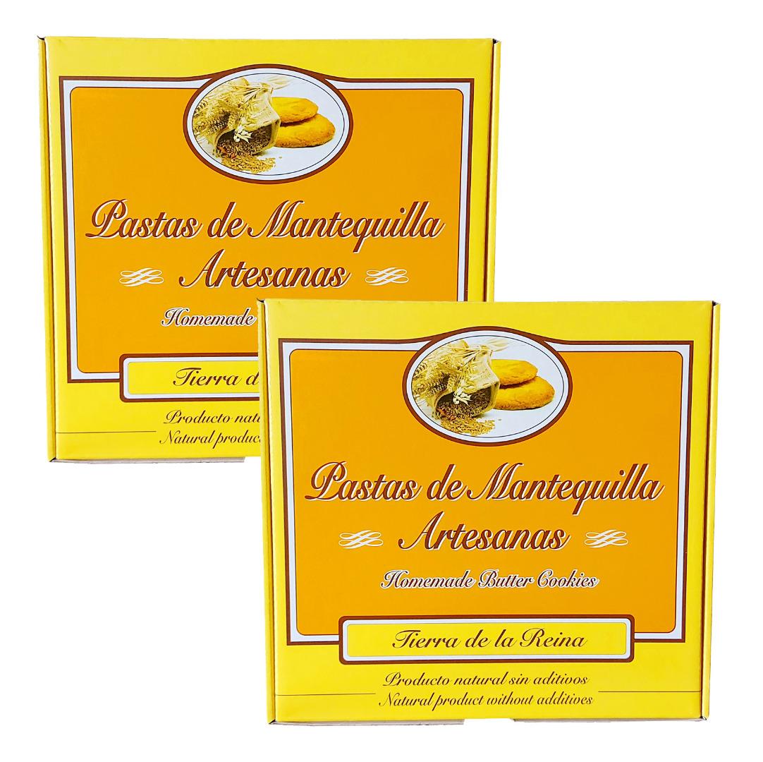 Panadería Tierra La Reina Lot Butter Pastes Land of the Queen 800 g