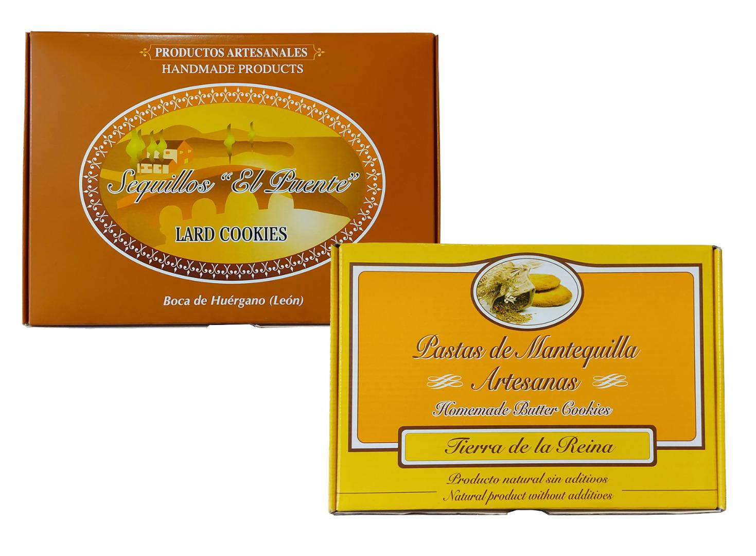 Panadería Tierra La Reina Lot Butter pastes + sequillos