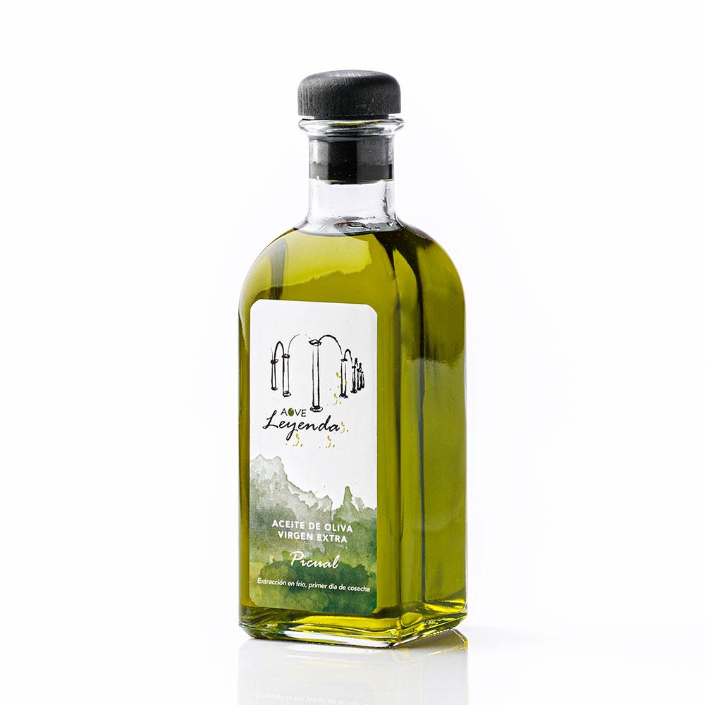 Aove Premium Picual Botella Transparente 500 ml