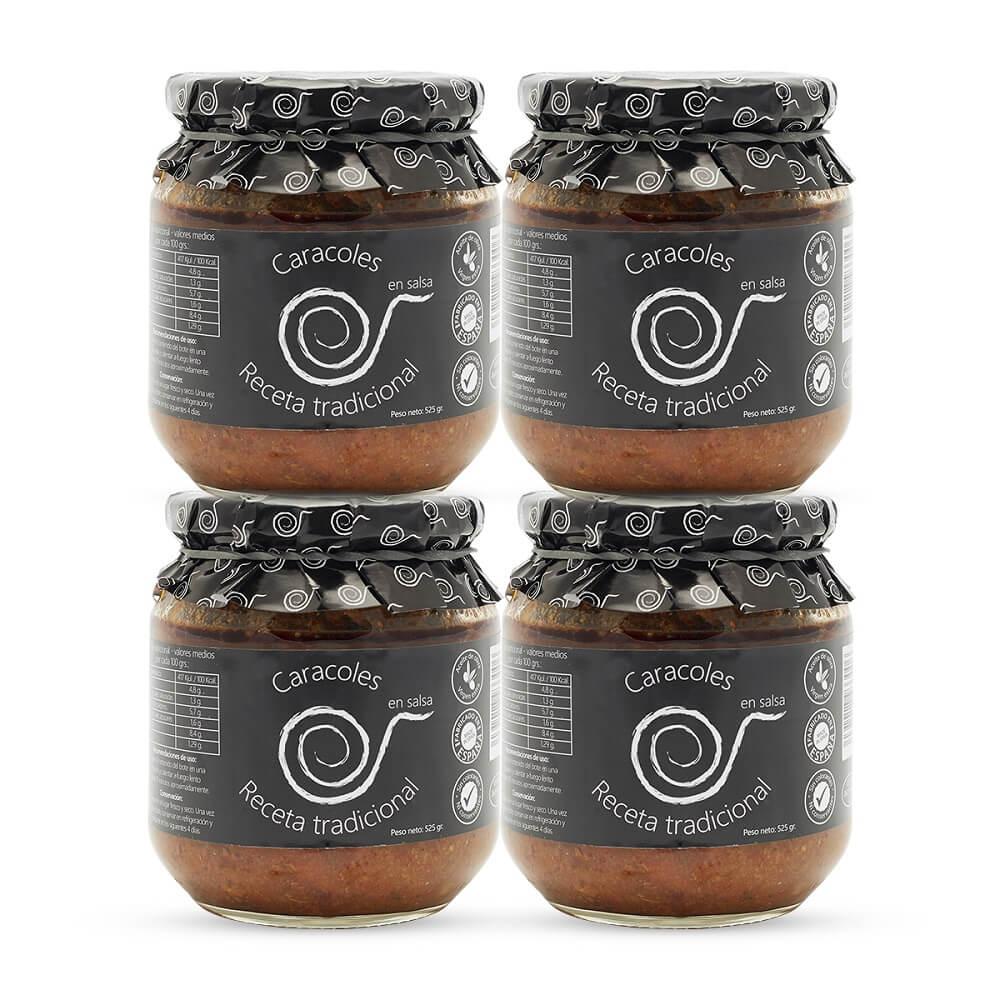 Caracoles en Salsa - 4x550g