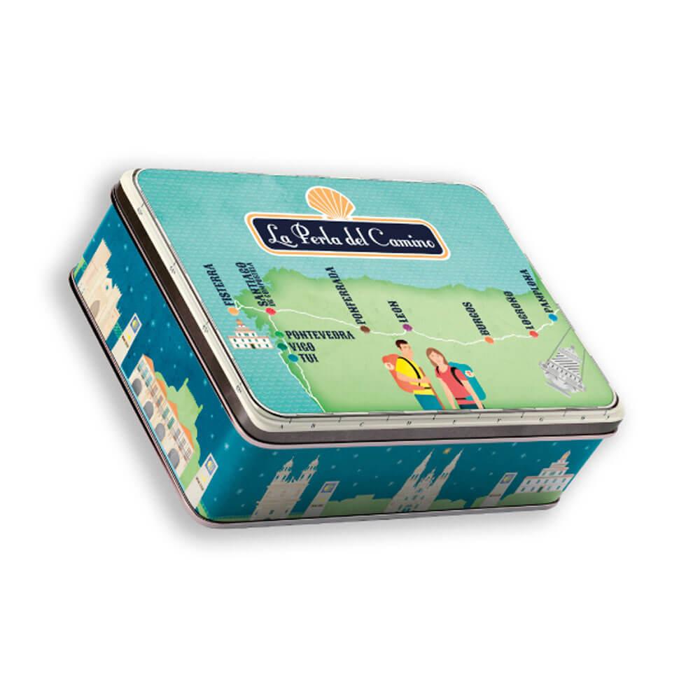 Pack Camino Portugués- 5 x latas de zamburiñas en salsa de vieira