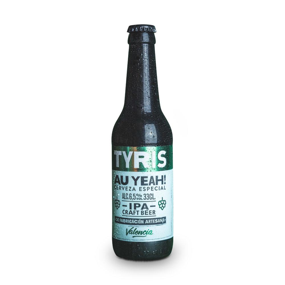 Tyris IPA Au Yeah! - 12 botellas 33 cl
