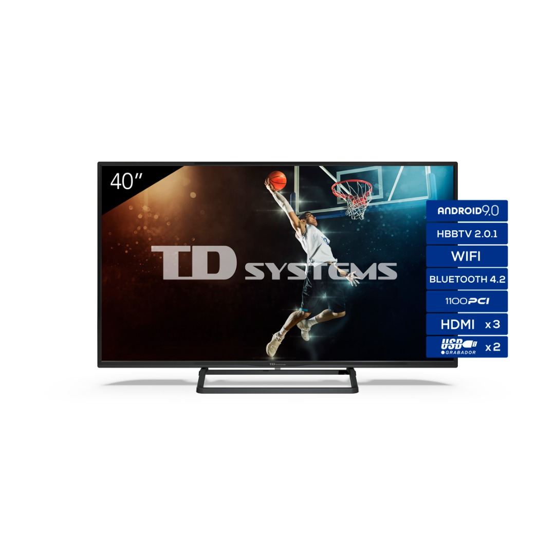 "TV 39,5"" Led Full HD Smart TD Systems K40DLX11FS"