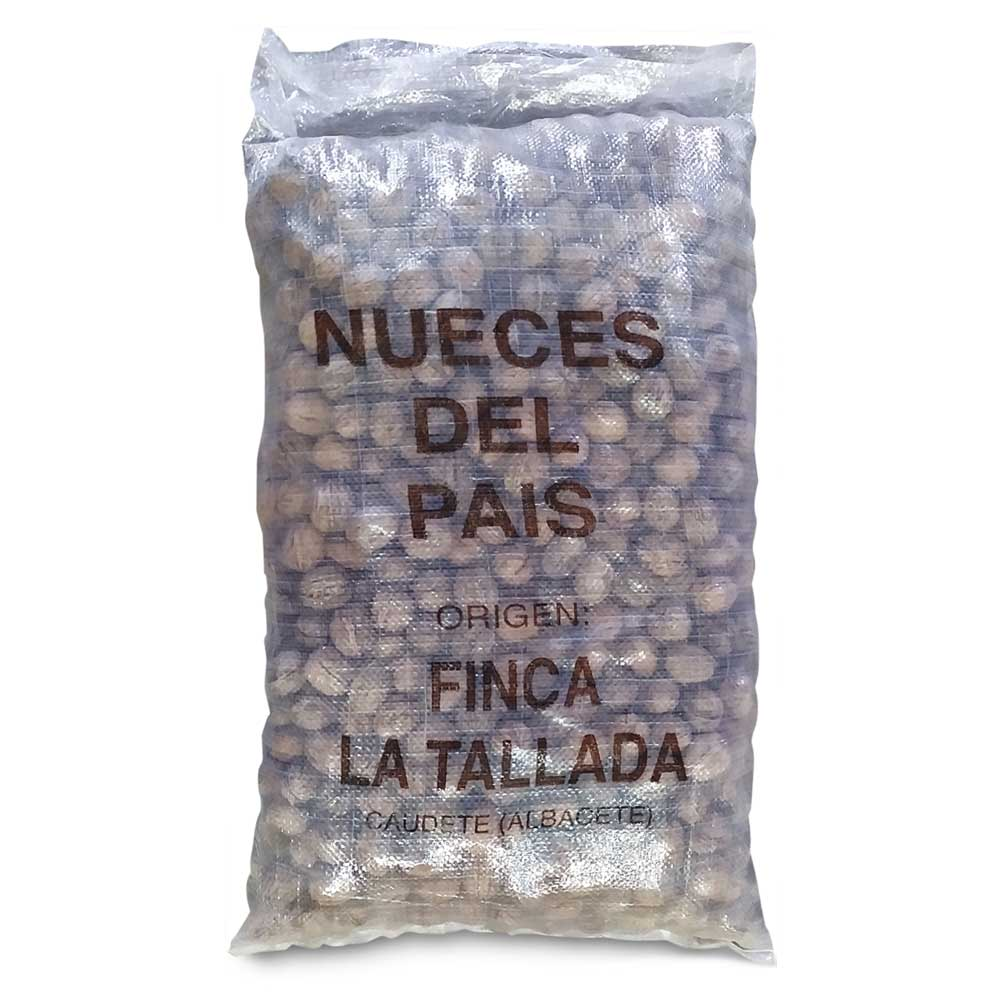 Nueces granel Casa Tallada. Caudete. España.