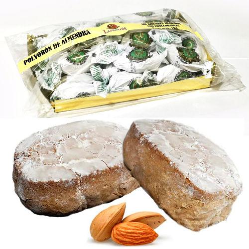 Polvorones de almendra Sin Azúcar Bolsa de 1kg