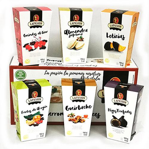 Set de productos gourmet para regalo