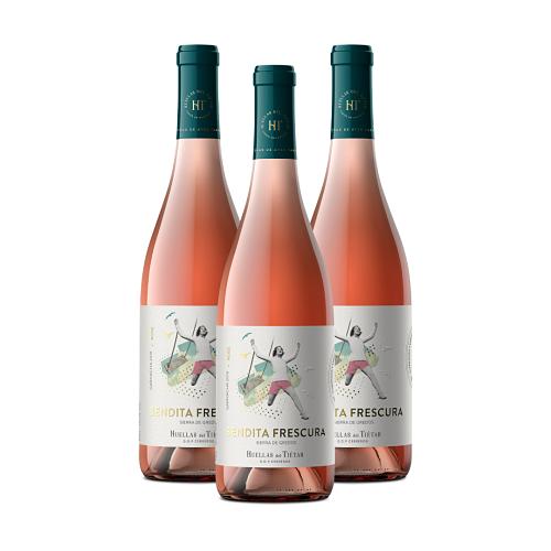 Bendita Frescura rosado DOP Cebreros - Pack 3 botellas