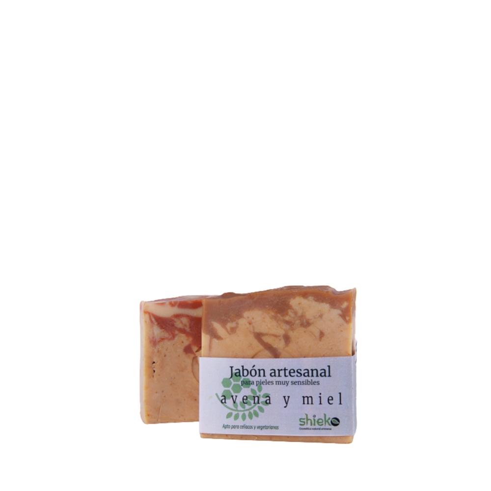 Jabón artesano de Avena y Miel - ECO